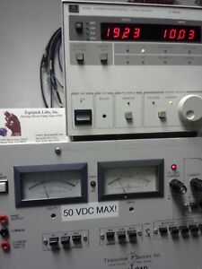 Agilent 6038a Programmable Dc Power Supply 0 To 60v 0 To 10a 200w Max Tested