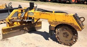 Genuine 2007 Ryan s Predator 500 Quick Attach Skid Steer Stump Grinder