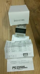 Ps Syracuse Time Delay Relay Programmable Ac dc 3a 2600 831941 Nos Original Pack