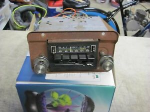 Ford Truck Bronco Am Fm Stereo Radio With Cassette Oem 80 86