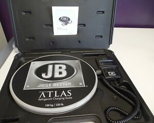Jb Industries Atlas 220lb Refrigerant Charging Scale 713 500 g37