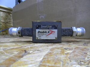 Double A Circuit Stak Hydraulic Valve Yp 01 t 10a3 Used