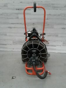 Used General Speed Drain Rooter 92 3 4 x 100 Autofeed Sewer Snake Pipe Cleaner