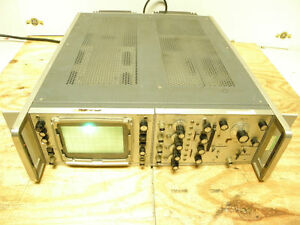 Hewlett Packard 183b Oscilloscope 1804 4 Channel 1820a