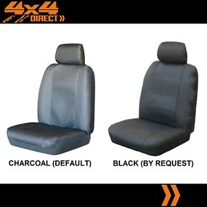 Single Water Resistant Canvas Car Seat Cover For Mg Mgb