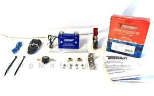 New Universal Adjustable Dual Stage Manual Valve Boost Controller Turbo Mbc Blue