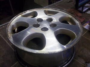 1998 2003 Legacy 2001 2004 Impreza Wheel 15x6 Aluminum Alloy Machined 6 Spoke