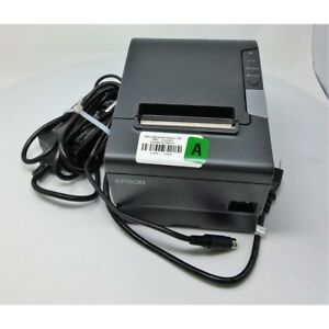 Epson Tm t88v M244a Pos Receipt Printer W Power Adapter