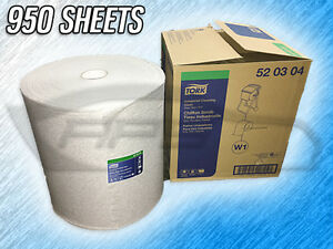 Tork Industrial Cleaning Cloth Giant Gray Roll 950 Sheets 16 9 x15 520304