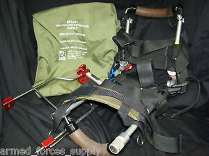 Adult Reel Splint Traction Extrication 8001 Military Tactical Ems Hybrid System