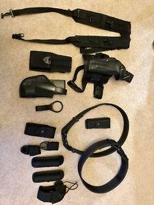 Swat Tactical Police Duty Belt Rig Gear Officer Guard Law Enforcement Us Navy Mp