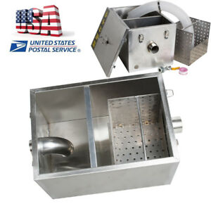Grease Trap Interceptor For Restaurant Kitchen Wastewater Oil water Separator Ce