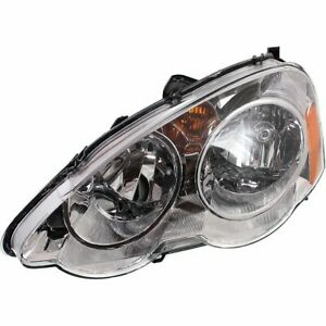 Headlight For 2002 2004 Acura Rsx Coupe Left Halogen Clear Lens