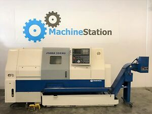 Daewoo Puma 200 Lmsc Cnc Sub Spindle Live Tool Turning Center La