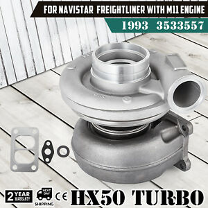 Up Hx50 Turbo Charger For M11 Cumnins Diesel Engine 3533557 3533558 3803710 Ok