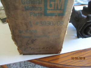Nos Chevrolet 1968 Impala chevelle camaro Manuel Steering Box With Rag Joint