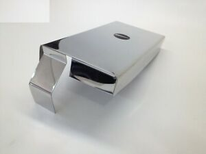 Fits Corvette C5 1997 2004 Stainless Steel 2 Pc Fuse Box Cover Ls1 Engine Chrome