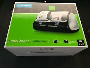 Dymo Label Writer 450 Twin Turbo Label Printer New In Opened Box Free Shipping