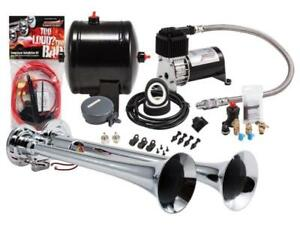 Kleinn Problaster Dual Truck Horn Kit 120 Psi Sealed Air Compressor And 0 5