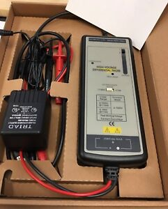 Cal Test Ct3681 High Voltage Active Differential Probe In Box