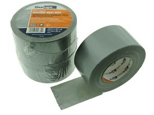 3x Shurtape Pc599 Silver Gray 9 Mil 3 Cloth Duct Tape Water Uv Resistant 60yd