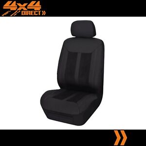 Single Panelled Leather Look Seat Cover For Pontiac Fiero