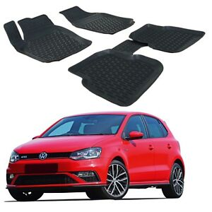 Scoutt Exclusive Floor Liners Mats All Weather For Volkswagen Polo 2013 2017