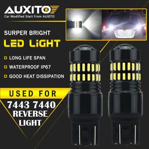 2x Back Up Reverse Light 7440 7443 Led Bulb For Honda Odyssey Civic Accord Eoa