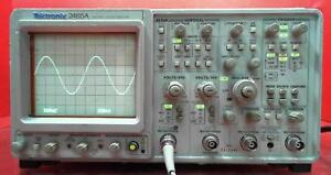 Tektronix 2465a 4 Channel 350 Mhz Oscilloscope B015996