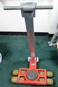 Jung Toolwell Jlb 3k A3 3 Ton Machine Skate Steerable Front W Pulling Handle