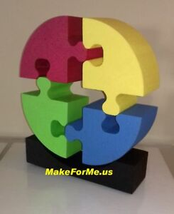 Large 3d Puzzle Office Desk Shelf Accessory Decor Conversation Piece