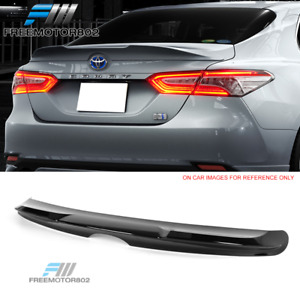 Fits 18 19 Toyota Camry T Style Trunk Spoiler Wing Gloss Black Abs