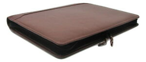 Brown Real Leather A4 Folder Portfolio With Option To Personalise Pa100