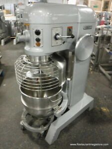 Hobart H 600t Donut Dough Mixer 60 Quart 60 Qt Bowl Dolly Hook