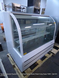Turbo Air Tcgb 48 dr s 48 Dry Curved Glass Bakery Display Show Case