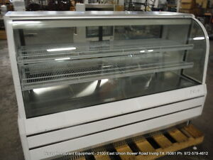 Turbo Air Tcgb 72 dr s 72 Dry Curved Glass Bakery Display Show Case