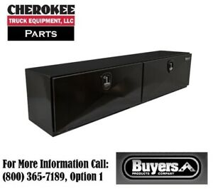 Buyers Products 1742336 Xd Series Steel Toolbox 18 H X 18 D X 96 W