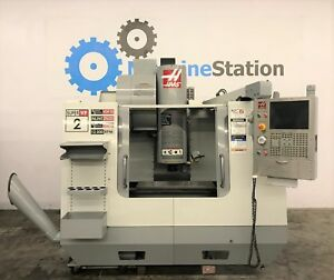 Haas Vf 2ss Vertical Machining Center 4th Axis 12000rpm Ss Super Speed