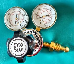 Harris 25gx 145 Gauge Single Stage Oxygen Regulator Made In Usa