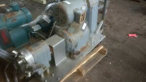Waukesha Sz 25 Positive Displacement Pump 1 5 W 1hp Motor