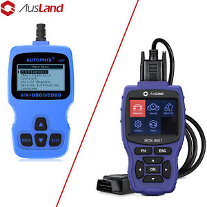 Obd2 Diagnostic Code Scanner Tpms Abs Srs Airbag Bms Full System One Car A Tool