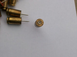 9mm Luger Brass Casing Push Pin 70