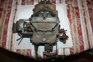 Ford T Bird 1961 1963 390 Factory Issued 390 Carburetor 4100 1 12