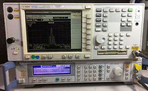 Hp Keysight Agilent E4406a 7 Mhz To 4 Ghz Rf Vector Signal Analyzer With Options