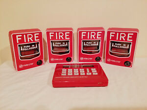 Magnum Fire Alert System With 4 Fire lite Bg 12 Pull Boxes