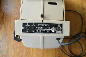 Vintage Titmus Optical Vision Eye Tester System Ov 7m Works Falvey