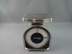 Vintage Pelouze Model Y50 50 Lb Mechanical Analog Kitchen Scale Weight Shipping