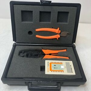 Weidmuller Paladin Tools Patch Check Cable Tester 1529 Cat5 Ethernet W Case