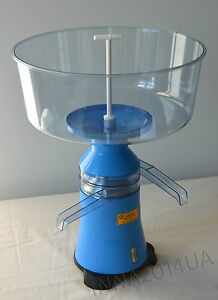 New Milk Cream Electric Centrifugal Separator Plastic 100l h From Factory