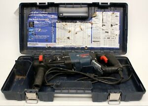 Bosch Gbh2 28l 8 5 Amp 1 1 8 Rotary Hammer Drill In Case Used Fast Free Ship
